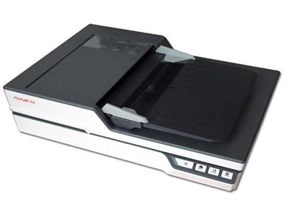 """方正高速文档扫描仪S5500    """"扫描组件:CIS 光源:LED 分辨率:平台:4800dpi ADF:600dpi 进纸器容量:60 张 (A4,70 g/m2) 最大可接受纸张尺寸:9.5"""""""" (242 mm) x 25"""""""" (635 mm) 扫描速度:50ppm/100ipm (A4 灰度、彩色、黑白, 200 dpi) 色彩位数:48位真彩色、16位灰阶、1位黑白"""""""
