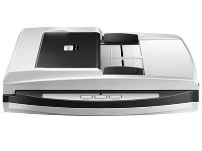 """精益SmartOffice PL1020D    """"直通道ADF+平板设计双面扫描 USB2.0接口,扫描速度10PPM/20IPM 进纸器容量高达50页 600dpi的光学分辨率 全新自动扫描模式,自动侦测并扫描 扫描识别为可搜索的PDF文档"""""""