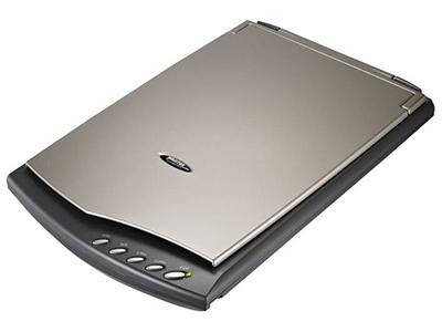 """精益OpticSlim 2610    """"轻薄时尚扫描仪 USB供电,方便又快速 分辨率高达1200 dpi 轻松转档成可搜式PDF"""""""
