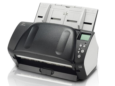 富士通(Fujitsu)Fi-7180扫描仪 A4高速双面自动进纸