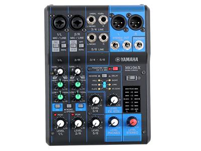 雅馬哈 MG06X 專業調音臺