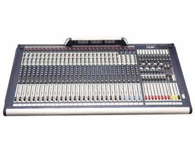 聲藝  GB 8-24  (RW5695) 調音臺 24路單聲道,四組全立體聲;8編組輸出,4啞音編組;11x4矩陣輸出;帶限幅器的錄音輸出;8個輔助輸出,其中4個可切換推子前/推子后;48V幻象電源供電。