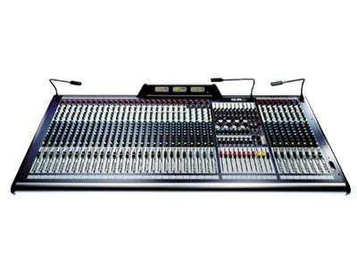 聲藝  GB 8-32  (RW5696)  調音臺 32路單聲道,四組全立體聲;8編組輸出,4啞音編組;11x4矩陣輸出;帶限幅器的錄音輸出;8個輔助輸出,其中4個可切換推子前/推子后;48V幻象電源供電。