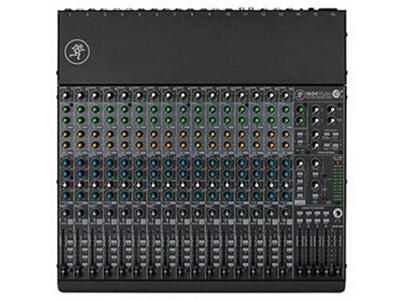 美奇 1604-VLZ4 緊湊型調音臺 24通道4總線模擬調音臺,16個Onyx話筒前置放大器