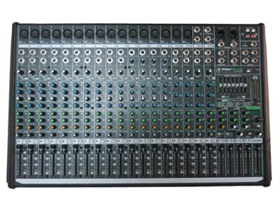 美奇 ProFX22V2  專業效果調音臺 22通道4總線效果調音臺,帶USB 16個RunningMan Vita? 話筒前置放大器