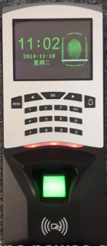 ST8856指纹刷卡门禁机,,,1000张卡容量。
