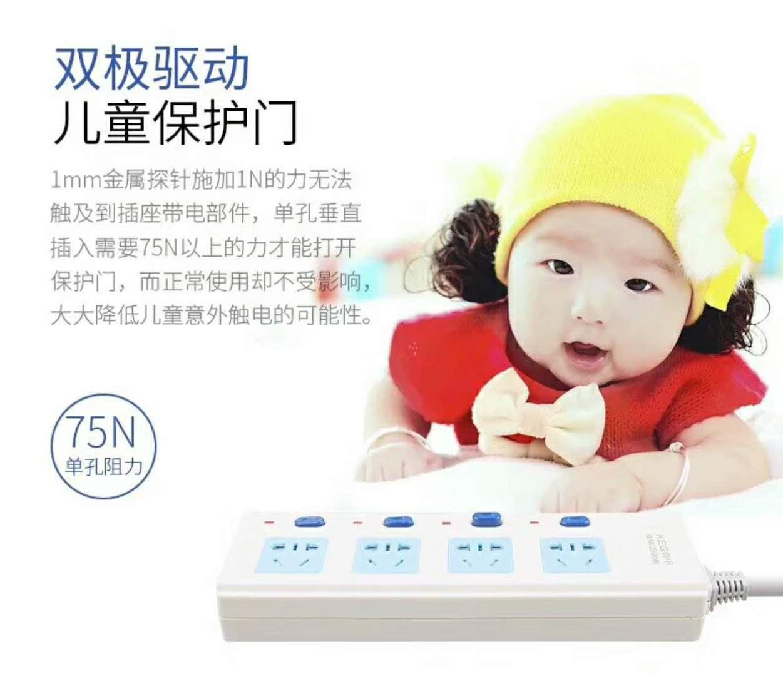 韓電插座 HD-1005K 獨立開關 雙極驅動 兒童保護門 國際3C認證