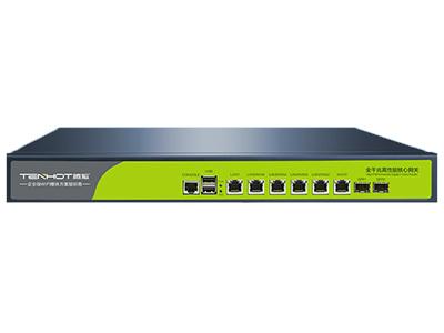 腾狐 TW1000 新一代高性能大网关 全千兆6口,1个WAN口,1个LAN口,4个WAN/LAN口;2个USB口,1个CONSOLE口,2个SFP口
