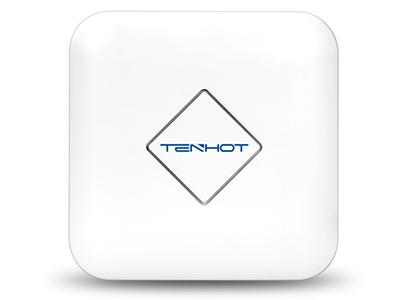 腾狐 XS800 企业级双频吸顶AP 能同时工作在2.4G/5.8G两个频段,并满足100人同时无线高速上网的需求。全千兆网络接口,2.4G 802.11N 300Mbps + 5G 802.11AC 900Mbps的无线接入速度,无线处理速度最高可达1200Mbps