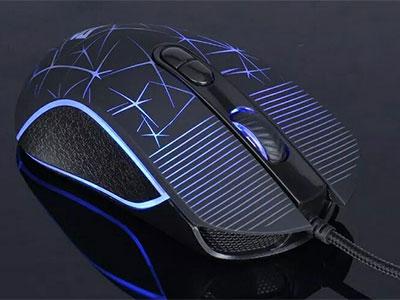 森松尼 M5S  吃鸡鼠标  可编程 七彩呼吸灯