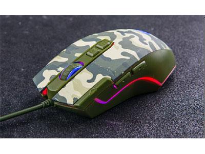 森松尼 M17  鼠标自带吃鸡宏,也可软件设置,A3050芯片,多种灯光模式