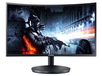 """三星C24FG70FQ    """"产品定位:电子竞技,设计制图 屏幕尺寸:23.5英寸 面板类型:VA 最佳分辨率:1920x1080 屏幕比例:16:9(宽屏) 可视角度:178/178°"""""""