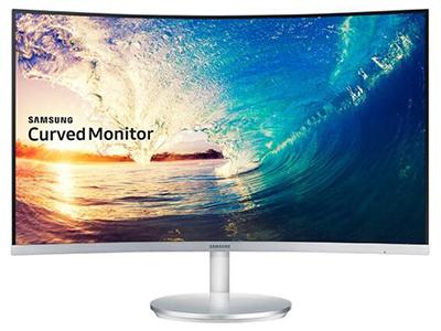 """三星C27F591FDC    """"接口:HDMI,VGA,DP 特征:曲面,99\%sRGB及以上,FreeSync,内置音箱 尺寸:27英寸 分辨率:1920*1080(全高清) 屏幕比例:16:9 面板:VA"""""""