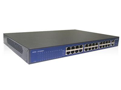 郑州聚豪 河南总代理 华三(H3C) SOHO-S1026T-CN交换机(220V AC、24FE,2个GE电口、13英寸、可上机架)24个10/100Mbps,2个10/100/1000Mbps,6.55Mpps/8.8Gbps 客户热线:柴经理 13253534321