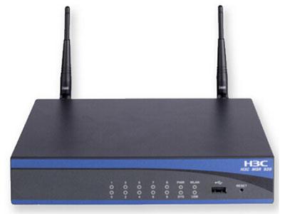 郑州聚豪 河南总代理 华三(H3C)  RT-MSR920-AC-W-H3 路由器H3C MSR 920 路由器主机(AC),2个WAN(FE)+8个LAN(FE)+1个USB(可支持3G上网卡)+1个WLAN(b/g),MPC 333MHz,100Kpps转发率。支持(802.1b/g), 防火墙吞吐量:100Mbps 客户热线:柴经理 13253534321