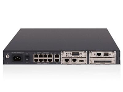 郑州聚豪 河南总代理 华三(H3C)  RT-MSR2021-AC-B-H3 路由器H3C MSR 20-21 路由器主机(AC),256M内存,基础版软件,RISC新一代处理器(400MHz),2个百兆接口,8个百兆以太网接口,2个SIC插槽,256M/384M(SDRAM)内存 包转发率:180Kpps 防火墙吞吐量:150Mbps 客户热线:柴经理 13253534321