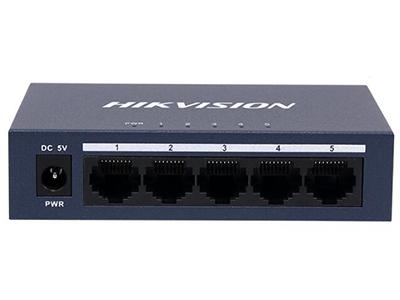 海康威視DS-3E0505-E    5個10/100/1000Mbps自適應以太網端口