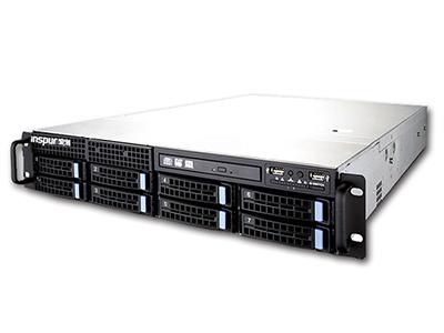 浪潮 NF5270M4 服務器 E5-2620v4(2.1GHz/8c)/8GT/20ML3*1/8G DDR4/7200轉 3.51T SATA*2/12×HSB/標配1塊 RS0