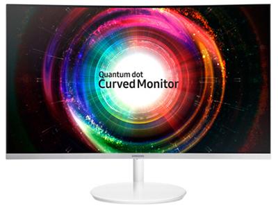 三星   C27H711QEC 2K曲面显示器27英寸超高清QD量子点 组装机显示屏