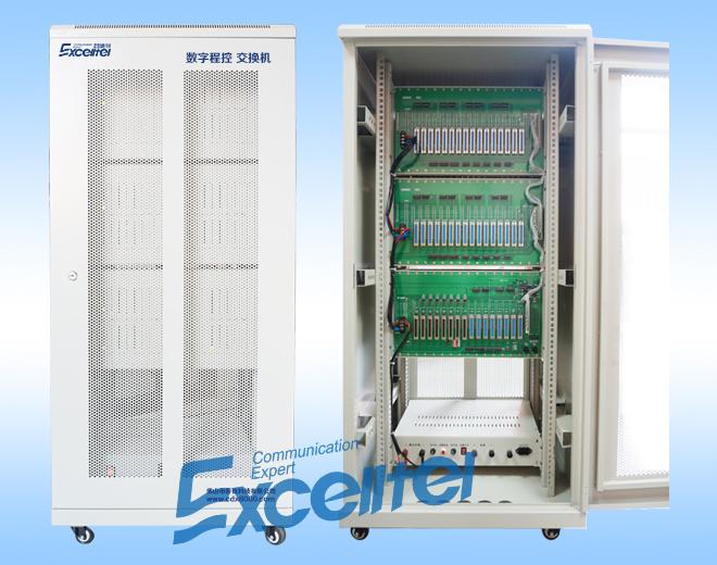 D256B系列數字程控交換機,最大擴展128外線+1024分機或4E1+1024分機