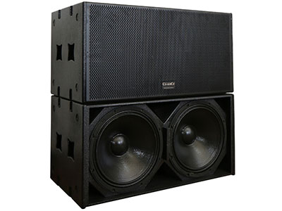 西特爾 H218 專業音箱 頻響35Hz-350Hz 阻抗 4Ω 最大功率5600W
