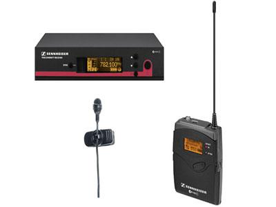 森海塞爾 EW122G3 心型領夾式無線話筒套裝 靈敏度20 mV/Pa 指向性心型 最大聲壓級 130 dB(SPL) max  頻率響應25 - 18.000 Hz