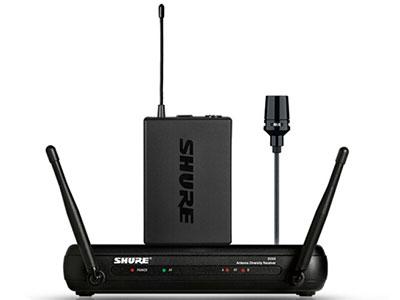 舒爾 SVX14/CVL 無線領夾麥克風話筒