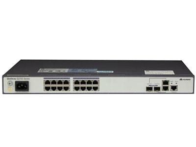 华为 S2700-26TP-EI-DC 交换机 (24个10/100Base-TX以太网端口,2个10/100/1000Base-T以太网端口,2个复用的千兆Combo SFP,直流供电)