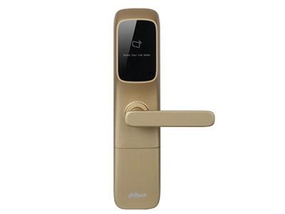 大華 酒店鎖DH-ASL5100R   支持Mifare卡,典型讀卡距離5-20cm,刷卡響應時間