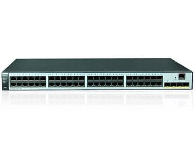 华为 S5720S-52P-LI-AC 交换机 (48个10/100/1000Base-T以太网端口,4个千兆SFP,交流供电)
