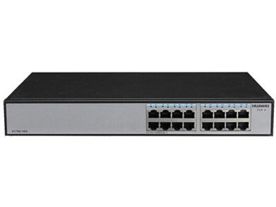 华为  S1700-16G 交换机 (16个10/100/1000Base-T以太网端口,交流供电)