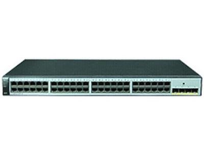 华为 S1720-52GWR-PWR-4P 交换机 (48个10/100/1000Base-T以太网端口,4个千兆SFP,PoE+,370W POE交流供电)