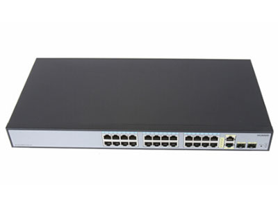 华为 S1700-28FR-2T2P-AC 交换机 (24个10/100Base-TX以太网端口,2个10/100/1000Base-T以太网端口,2个千兆SFP,交流供电)