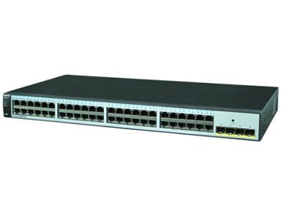 华为 S1720-52GWR-4P-E交换机 S1720-52GWR-4P组合配置(48个10/100/1000Base-T以太网端口,4个千兆SFP,含license,交流供电)