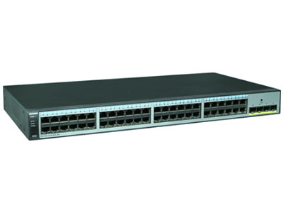 华为 S1720-52GWR-4X-E 交换机 S1720-52GWR-4X组合配置(48个10/100/1000Base-T以太网端口,4个万兆SFP+,含license,交流供电)