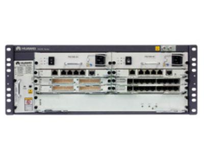 华为 NE20E-M4 高端路由器 交流基本配置(含NE20E-M4机箱/双主控MPUE/单NSP A/双交流电源/8*GE RJ45/电源线)