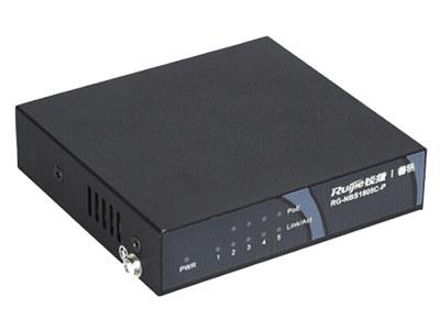 锐捷 RG-NBS1809C-P 交换机 5口百兆非网管型PoE交换机,4口支持PoE