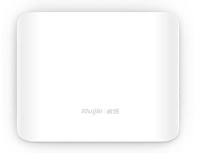 锐捷 RG-EAP201  室内单频吸顶无线接入点,采用内置天线,整机最大接入速率300Mbps,工作在802.11b/g/n模式,胖瘦一体化,支持易网络APP管理,支持免AC管理,支持PoE供电和本地供电(PoE供电设备和DC适配器需单独采购.)