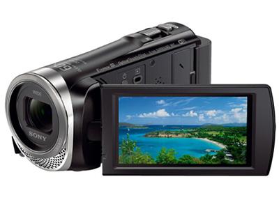 索尼 HDR-CX450 高清数码摄像机 光学防抖 30倍光学变焦 蔡司镜头 支持WIFI/NFC传输