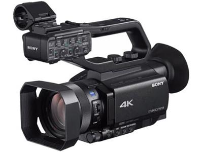 索尼 HXR-NX80摄像机 专业手持式摄录一体机 4K 高清HDR婚庆会议采访 变焦:15倍以下