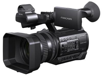 索尼 HXR-NX100 专业便携式摄录一体机  变焦:15倍以下 像素:601万以上