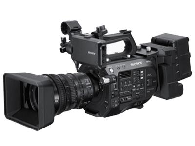 索尼 PXW-FS7 4K高清摄影机 存储介质:闪存式类型:轻巧便携,高端专业,婚庆 像素:601万以上