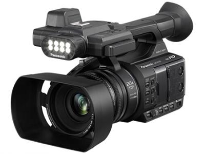 松下 HC-PV100GK 高清数码摄像机/ 像素:301-600万  清晰度:HD高清 变焦:15倍-30倍