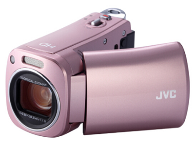 JVC GZ-N1数码高清专业婚庆摄像机 机身容量:8GB 像素:601万以上 清晰度:HD高清 变焦:50倍以上