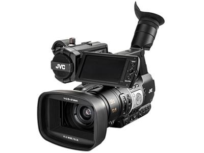 JVC JY-HM360EC 手持式准专业高清数码摄像机  像素:601万以上 清晰度:HD高清 变焦:15倍以下