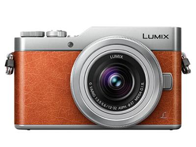松下  GF9K微型单电套机   4K美颜自拍神器、触摸翻转屏、WIFI传输 魅惑橙