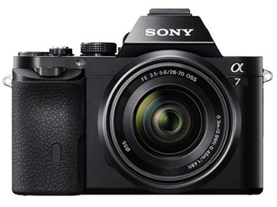 索尼  A7 画幅微单相机 像素:2001-4000万