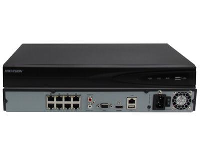 海康威視DS-7808NB-K2/8P網絡監控硬盤錄像機 8路雙硬盤位帶POE