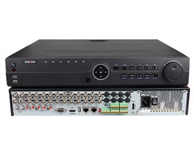 海康威視DS-7924HE-E4 硬盤錄像機 24路監控主機接模擬網絡監控攝像頭 4硬盤位