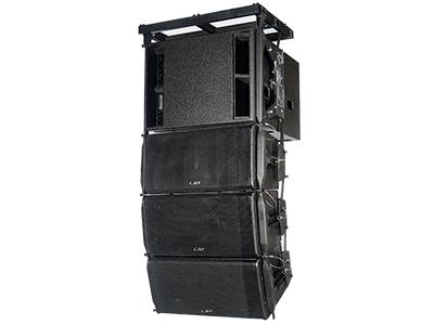 CAF NX-1210 線陣演藝專業音響 頻響范圍(±3db) LF:50HZ-2000HZ  HF:600HZ-20000HZ  最大功率(Peak)  LF:2400W  HF:360W